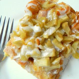Apple Fritter Breakfast Casserole.