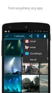 File transfer by Infinit Screenshot 5