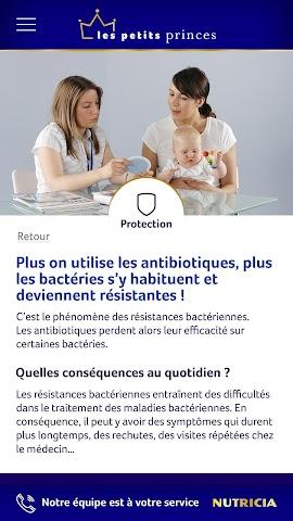 android Nutricia - Les Petits Princes Screenshot 2