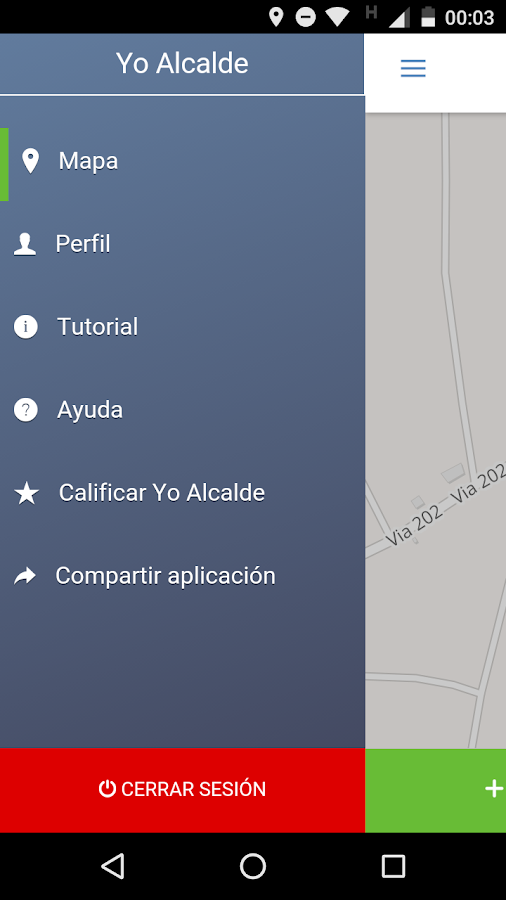 Yo Alcalde- screenshot