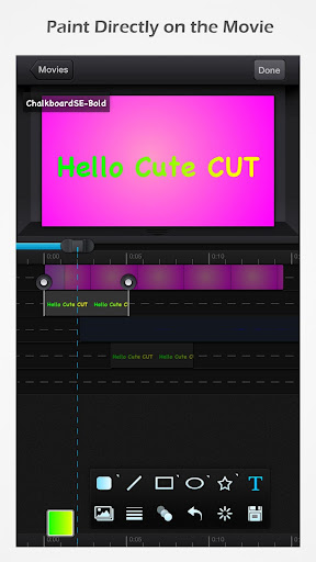 Cute CUT - Editor de video screenshot 2