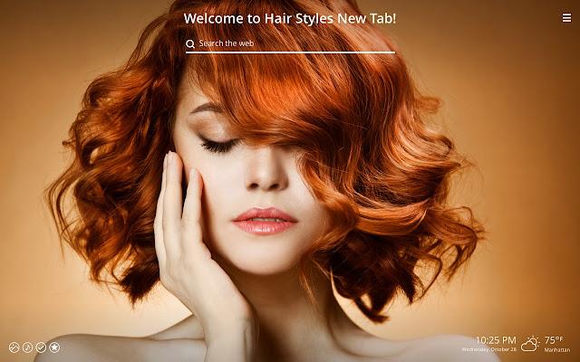 Hair Styles New Tab