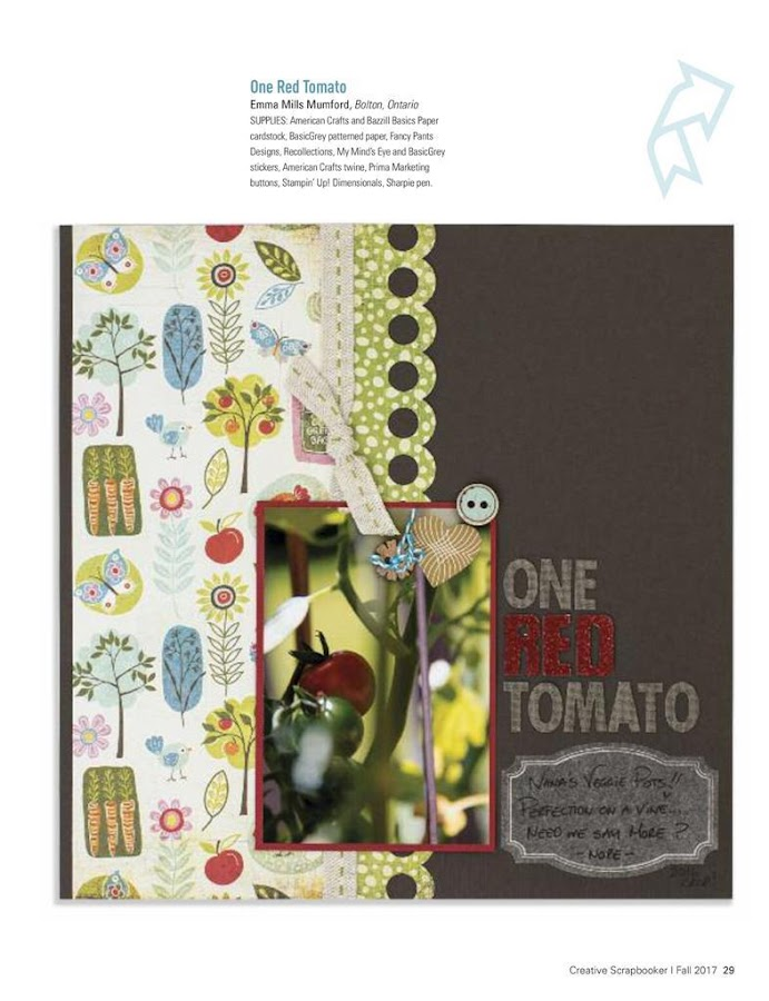 Creative Scrapbooker Magazine- screenshot