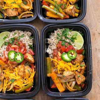 Fajita Bowls (Meal Prep) Recipe