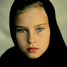 Ninja girl by Pirjo-Leena Bauer - Babies & Children Child Portraits