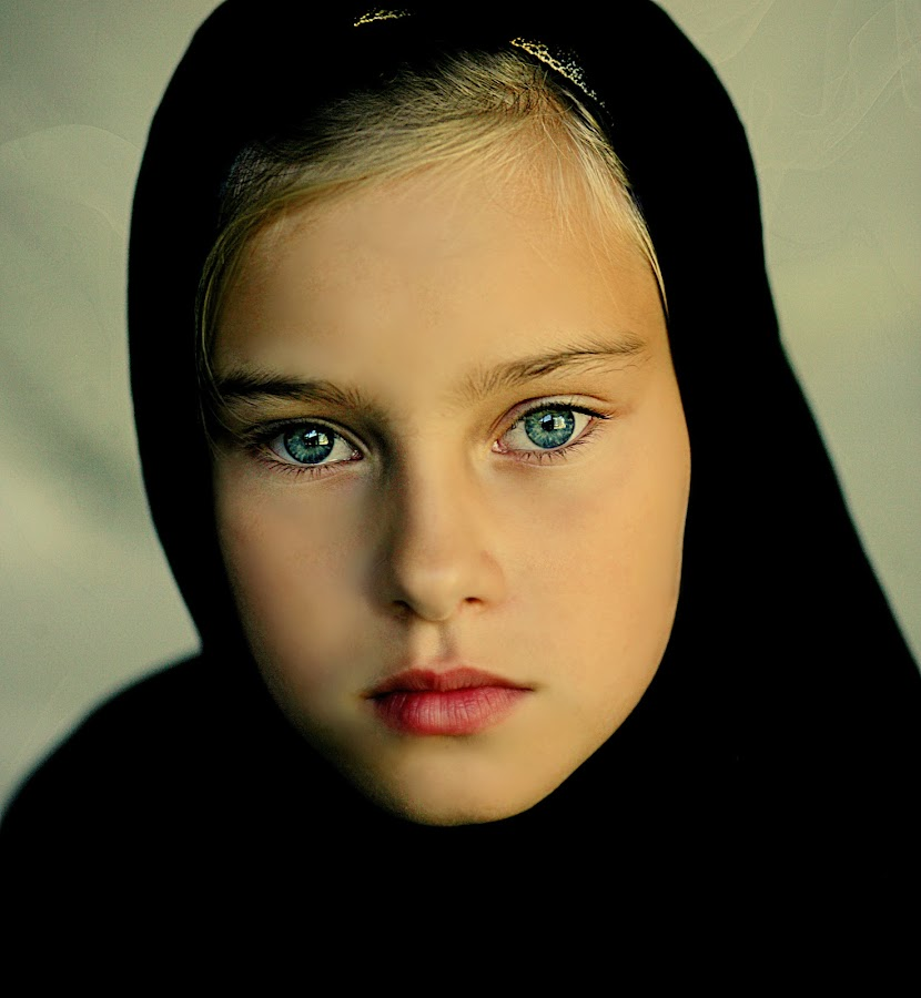 Ninja girl by Pirjo-Leena Bauer - Babies & Children Child Portraits