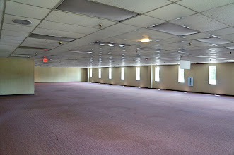 Photo: Second floor, northwest corner, one-time home of Single Point Operations (SPO).