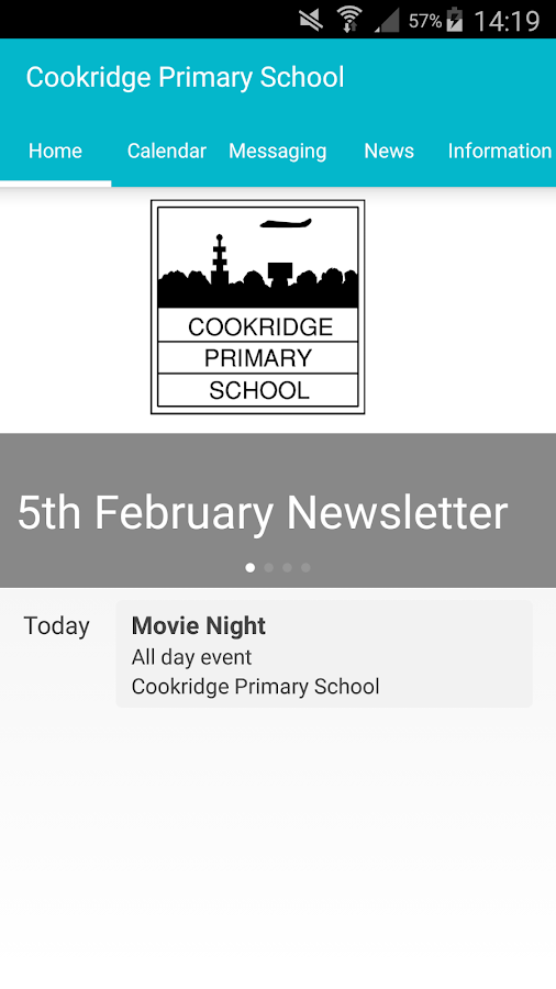 Cookridge Primary School- screenshot