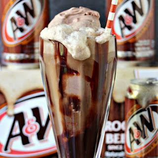 Chocolate Hot Fudge Root Beer Float