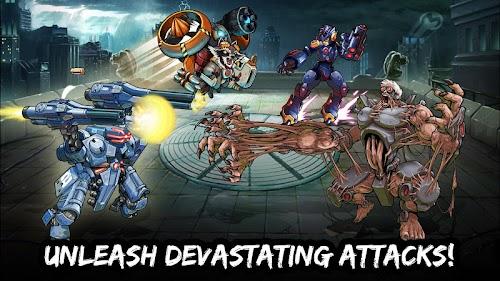 Screenshot 2 Mutants Genetic Gladiators 53.318.161377 APK MOD