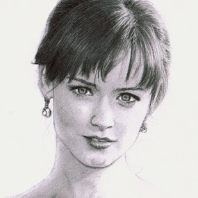Alexis Bledel Sketch by Franky Go - Drawing All Drawing ( sketch, model, alexis bledel, beautiful, hollywood, actress, portrait, drawing )