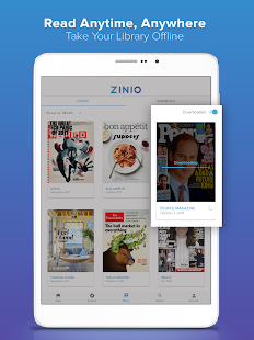 Zinio - Magazine Newsstand- screenshot thumbnail