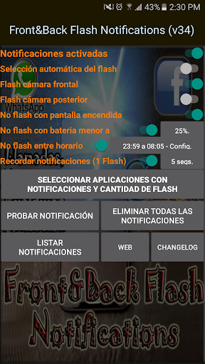 Front&Back Flash Notifications 38.0 screenshots 7