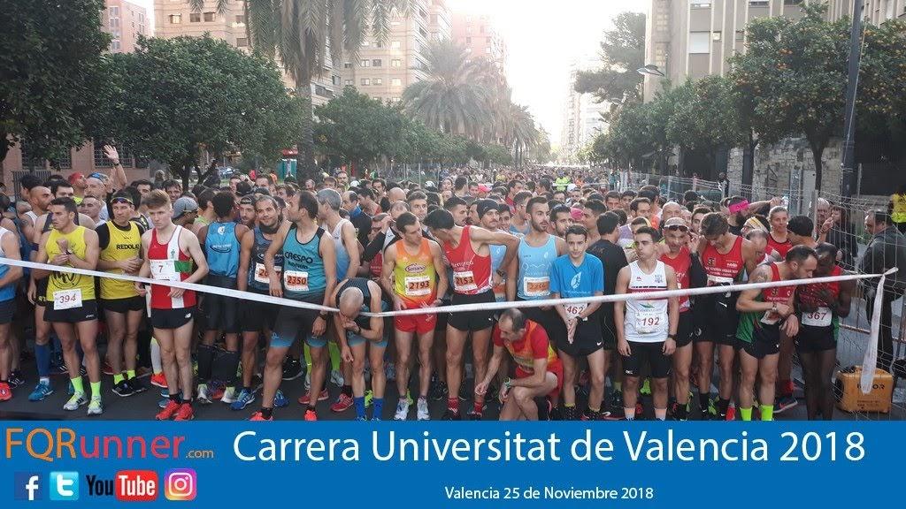 La carrera Universitat de Valencia cierra el circuito Divina Pastora 2018