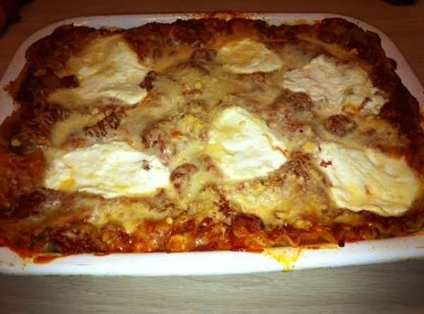My Homemade Lasagna Recipe