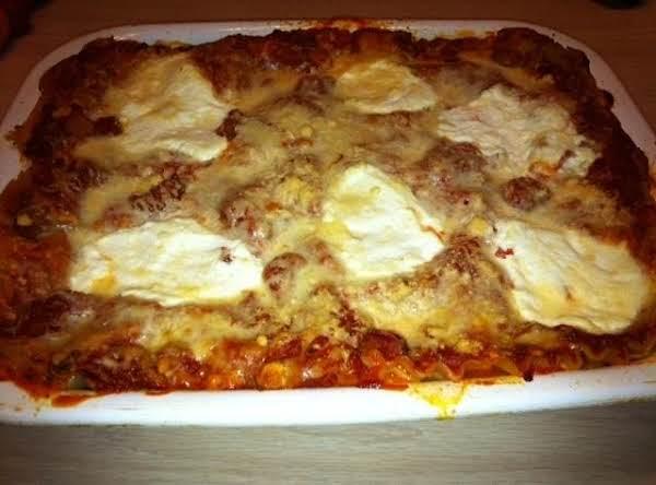 My Homemade Lasagna