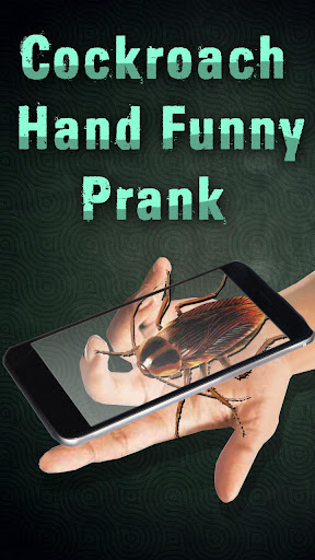 Cockroach Hand Funny Prank