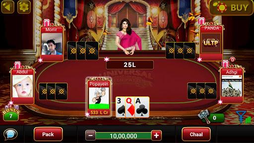 Universal Teen Patti - Indian Poker Game screenshots 23
