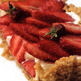 Strawberry Mascarpone Tart.