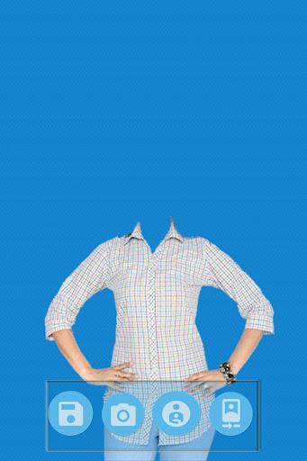 Woman Shirt Photo Suit Editor