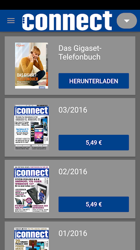 connect Magazin screenshot 2