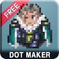(Free) Dot Maker - Pixel Art Painter, Game Design icon