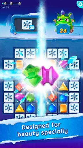 Jewel Blast - Puzzle Legend 35.0 APK MOD screenshots 2