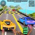 Mega Ramp GT Chained Car Stunts Free icon