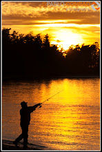 Photo: © Paul Conrad/Pablo Conrad PhotographySunset at A fisherman tries his luck at Deception Pass on Whidbey Island north of Seattle, Wash., on Monday Oct. 17, 2011.
