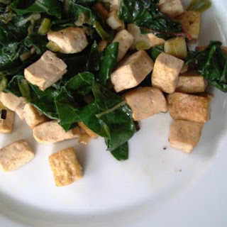 Swiss Chard and Tofu Stir-Fry Recipe (Vegetarian, Vegan and Gluten-free)