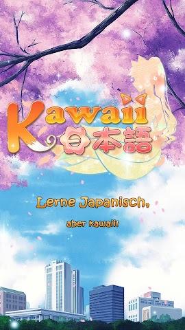 android kawaii日本語 - Japanisch lernen Screenshot 0