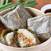 020 Steamed Sticky Rice in Lotus