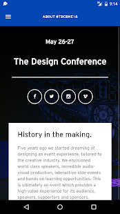 The Design Conference Brisbane- screenshot thumbnail