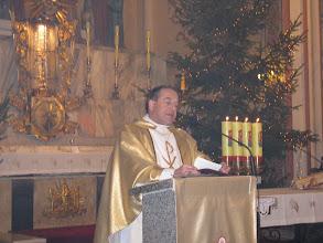 Photo: Pasterce przewodniczył proboszcz parafii - ks. Tadeusz Pepłoński
