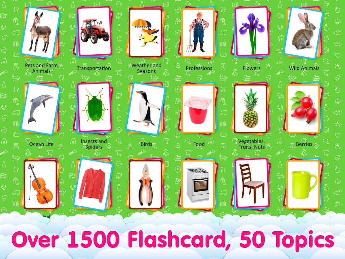 Worksheet Kid Flash Cards english flashcards for kids android apps on google play screenshot
