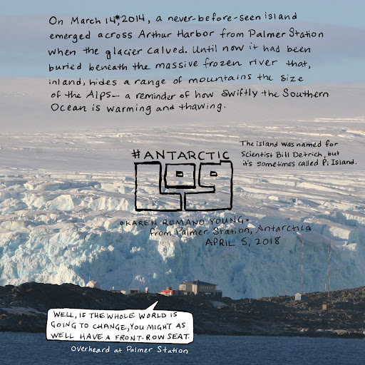 #AntarcticLog: Talking climate change science & policy