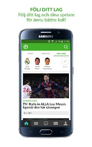 Fotbollskanalen screenshot 1