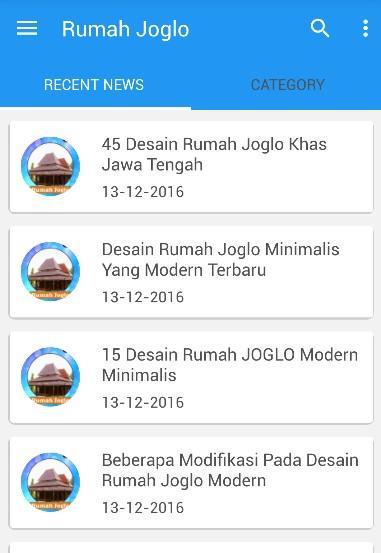 Desain Rumah Joglo Modern Apl Android Google Play Screenshot Gambar