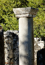 Photo: Butrint - Early octogonal Byzantine Baptistery, second half 5th century AD