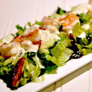 Low Carb Shrimp & Avocado Salad.