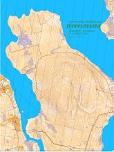 Photo: Karttapullautin map of Juoppuavaara hill in Sodankylä.