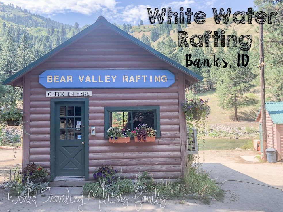 White water rafting - Banks, Idaho