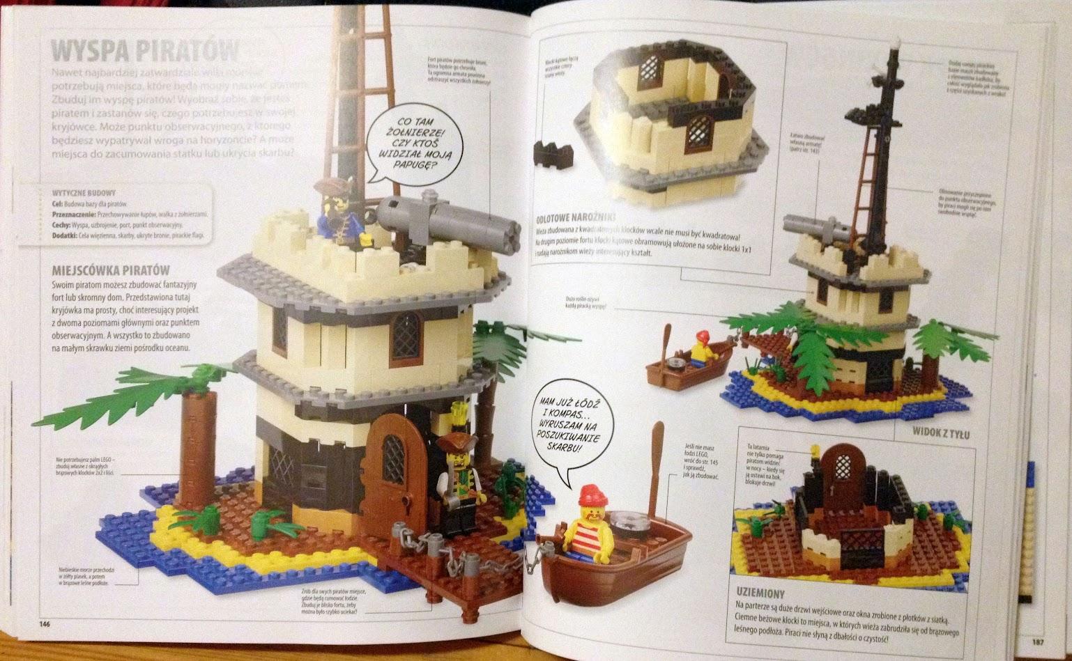Lego - wyspa piratów