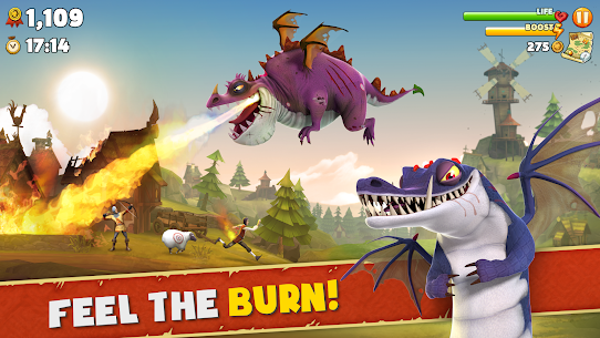 Hungry Dragon™ MOD 1.5 (Unlimited Money) Apk Latest 1