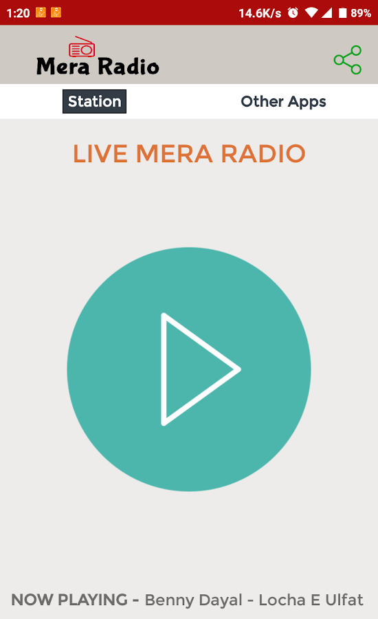 Mera Radio- screenshot