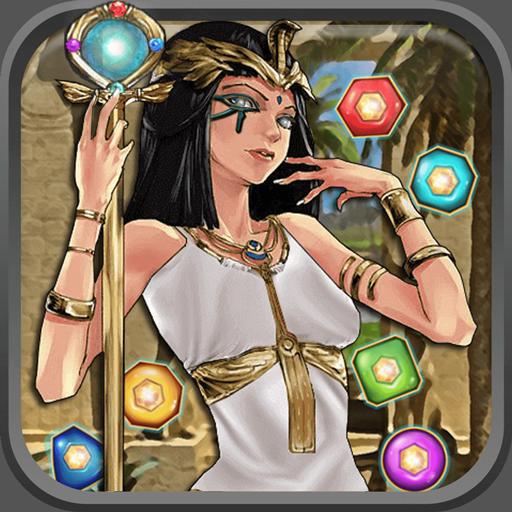 Cleopatra Match 3 Jewels Saga - Pharaoh Gems Quest (game)