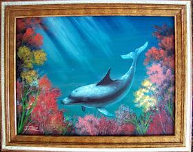 Photo: Oil on canvas.  $299.00