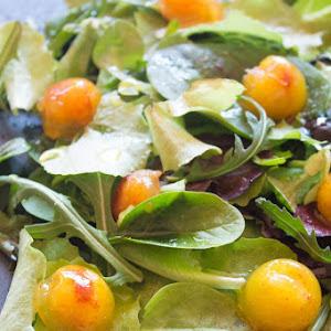 Salad with Jellied Codfish and Orange