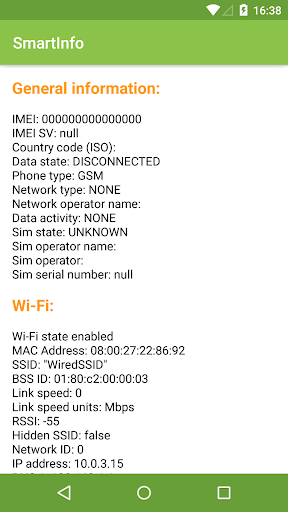 SmartInfo Hardware Info