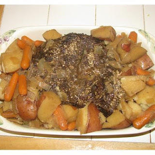 Crock Pot Pot Roast Of Beef